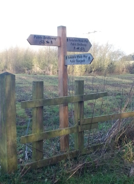 The National Trail - the Wolds Way